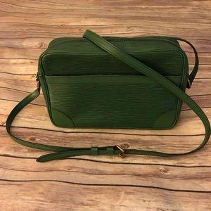 Louis Vuitton Epi trocadero leather crossbody bag
